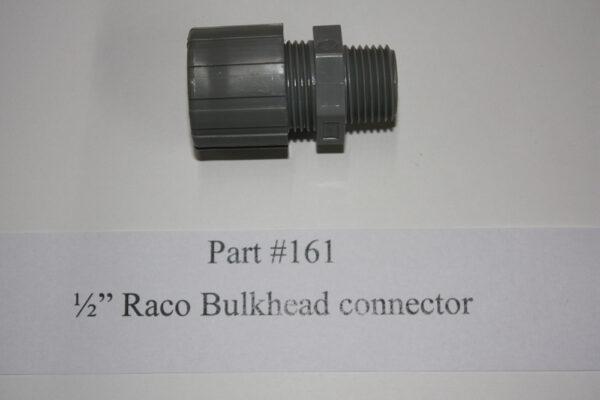 1/2″ RACO BULKHEAD CONNECTOR